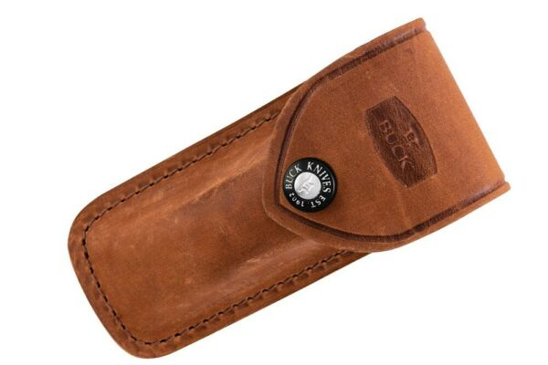 Buck Knives 112 Ranger Distressed Brown Genuine Leather Sheath