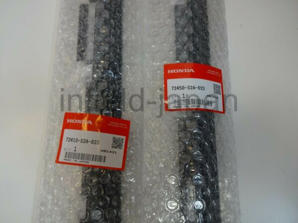 Genuine Honda S2000 Left Right Side window mall 72410-S2A-023 72450-S2A-023 FS