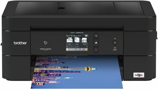 Brother Wireless All-In-One Inkjet Printer, MFC-J895DW, Multi-Function Color