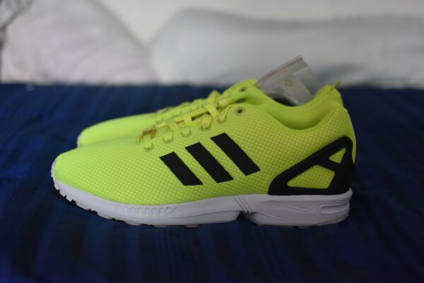 Mens Adidas ZX Flux - Electric Yellow - Size 10.5 (M22508)