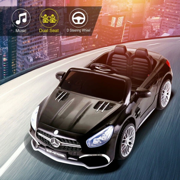 Electric Car Mercedes-Benz 12V Kids Ride On Toy Battery Powered wRemote Control