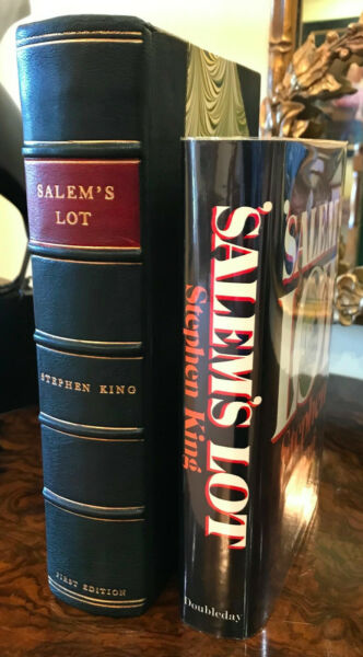 Stephen King (1975) 'Salem's Lot' US first edition first state with USD 8.95