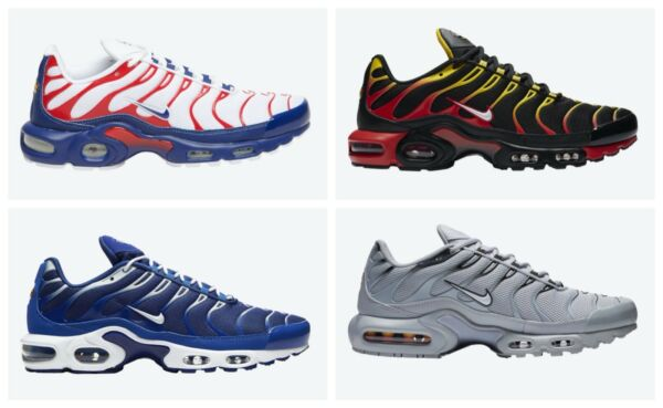 Nike Air Max Plus Various Colors US Mens Sizes 8-13 Running Shoes $159.99