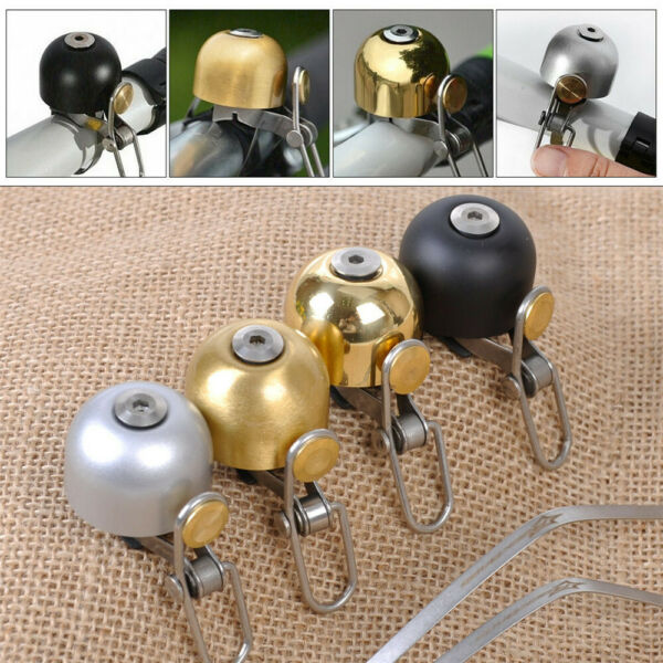 2020 RockBros Vintage Bicycle Cycling Ring Classic Cycling Bell Bike Retro Bell $7.99