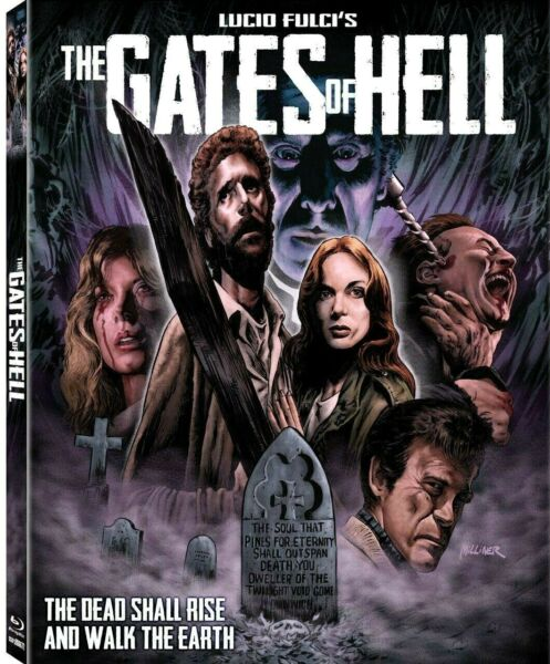THE GATES OF HELL Blu-Ray DELUXE Limited 12000 GORE Lucio Fulci *RARE SLIPCOVER
