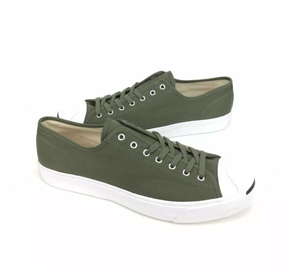 NEW Converse Jack Purcell JP Ox Surplus Green White Mens Shoes Sneakers Size 13