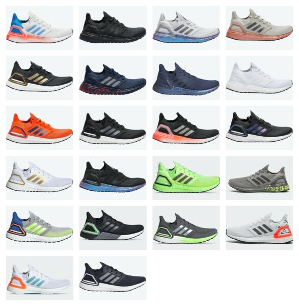 Adidas Ultra Boost 20 Ultraboost 20 Multiple Colors Mens Sz 8-13 Running Shoes $129.99