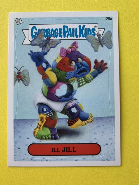 2013 garbage pail kids Brand New Series 2 Ill Jill 125a