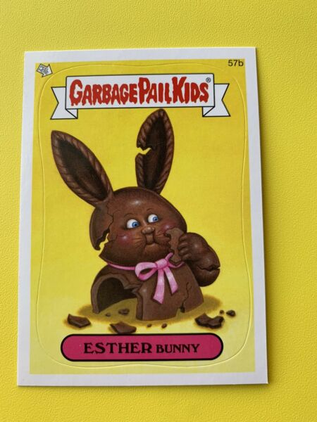 2013 garbage pail kids Brand New Series 2 Esther Bunny 57b