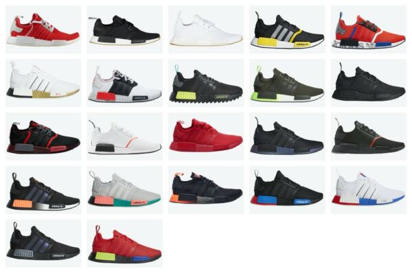 Adidas NMD R1 Multiple Colors US Mens Sizes 8-13 Athletic Shoes $109.99