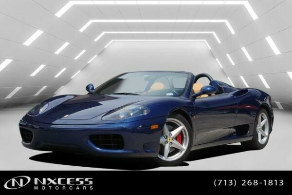 2003 Ferrari 360 SPIDER ONLY 4K MILES TIMING BELT BEEN DONE! 2003 Ferrari 360 SPIDER ONLY 4K MILES TIMING BELT BEEN DONE!