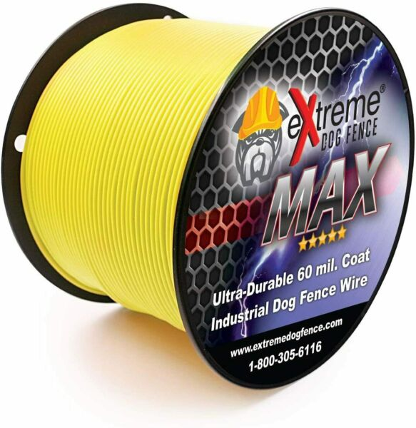 eXtreme MAX Grade Electric Dog Fence Boundary Wire 14 Gauge 1000#x27; $139.99