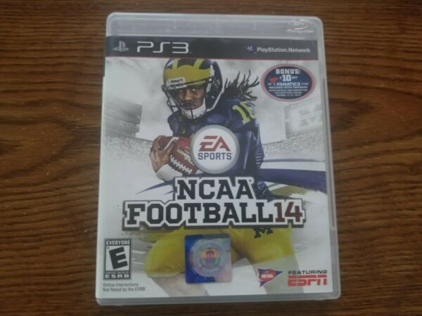 NCAA Football '14 PS3 Very Good Condition (Everything included).