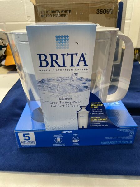 Brita 5 cup capacity jar with One advance filter FREE SHIPPING