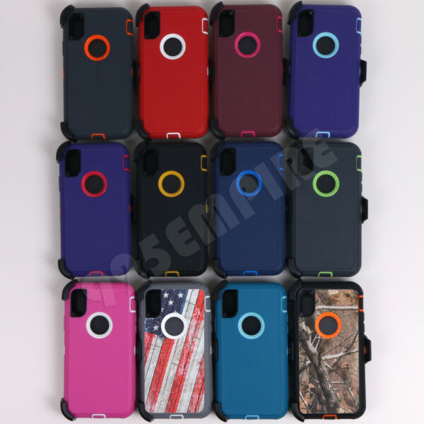 for iPhone XR XS 11 11 Pro MAX Defender Case Clip fits Otterbox