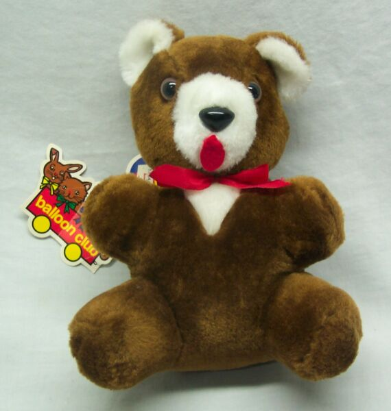 Antique Vintage HESS'S Balloon Club BROWN TEDDY BEAR 8