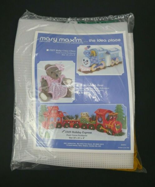 Mary Maxim Exclusive Needlework and Crafts 7249 Holiday Express Christmas Train $15.99