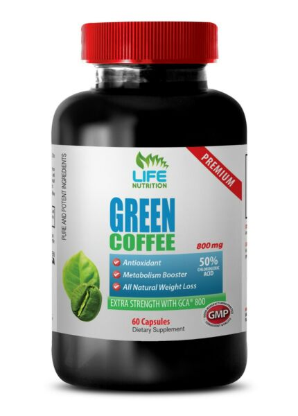 Green Coffee Beans Extract Green Coffee Extract GCA 800mg Belly Burner 1B