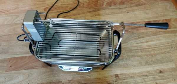 Faberware Open  Hearth Indoor Electric Rotisserie Grill Home Restaurant Buffet