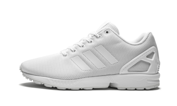 [S32277] Adidas ZX FLUX Running Shoes - White *NEW*
