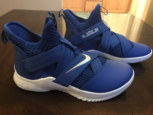 New Nike Lebron Soldier 12 Game Royal Sneaker Size US 11