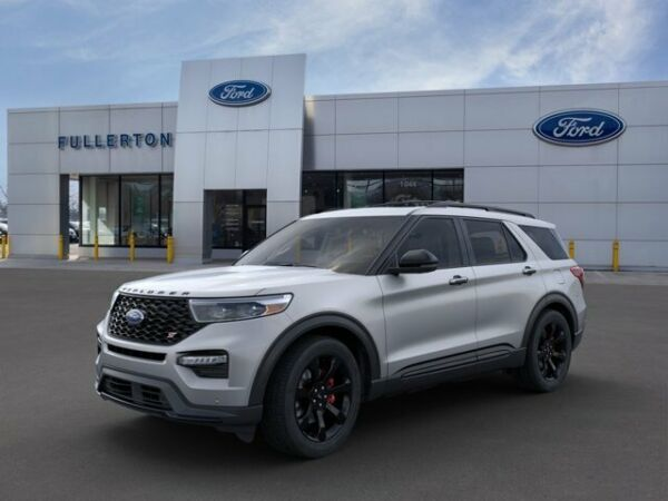 2020 Ford Explorer ST 2020 Ford Explorer Iconic Silver Metallic with 14 Miles available now!