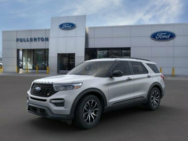 2020 Ford Explorer ST 2020 Ford Explorer Iconic Silver Metallic with 5 Miles available now!