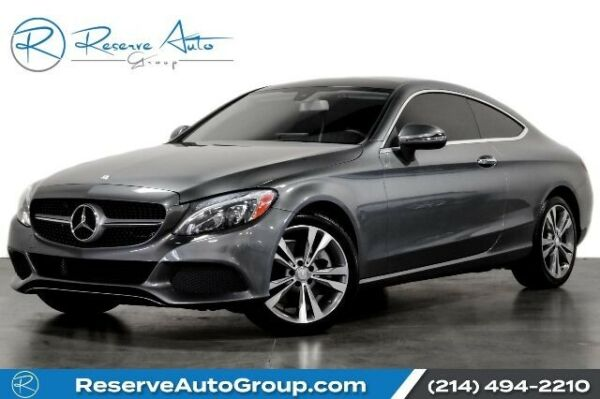 2017 Mercedes-Benz C-Class C300 Navigation Htd Seats BlindSpot Monitor BackUp 2017 Mercedes-Benz C-Class Selenite Grey Metallic with 20674 Miles available no