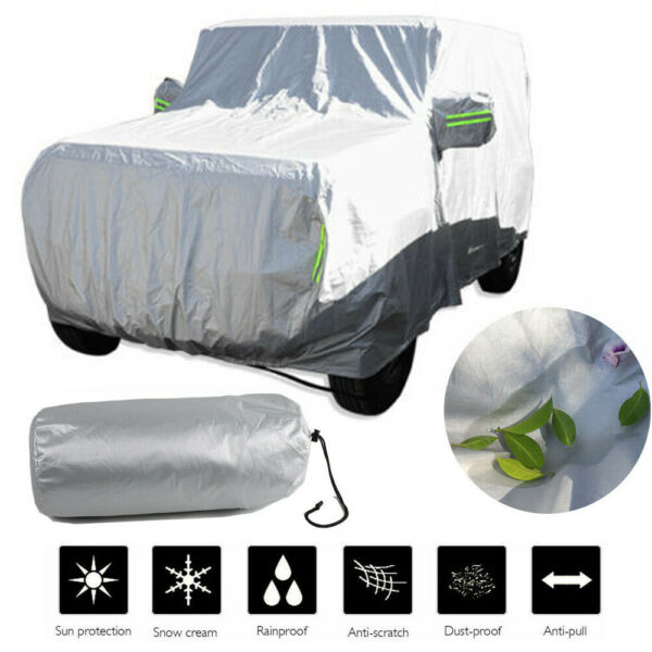 for Suzuki Jimny 2019 Car Cover Outdoor Waterproof Rainproof Sunshade Dustproof