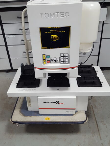 TomTec Quadra 3NS Automated Pipetting System