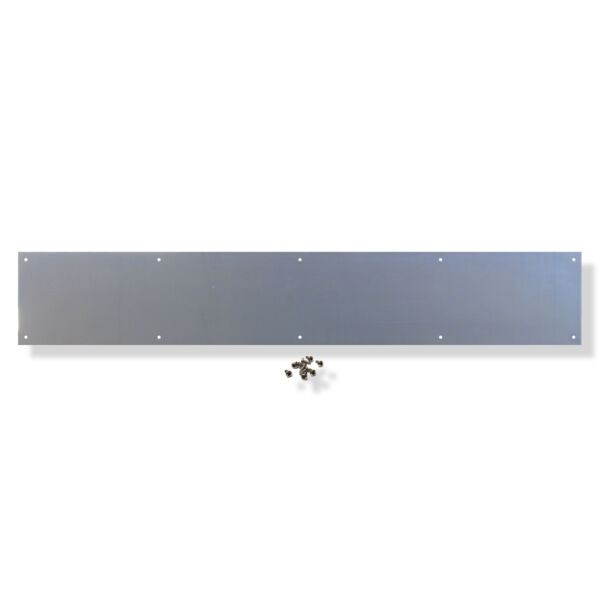 Aluminum Door Kick Plate .050 x 8 in. x various lengths