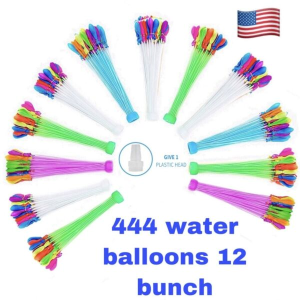 Bunch O Balloon style Packs 444 Pcs Self Sealing Instant Water Balloons $13.50