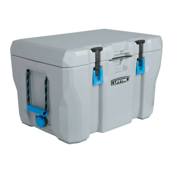 HEAVY DUTY 55 QUART COOLER HUNTING CAMPING INSULATED CHEST BOXES 7 DAY ICE 🧊