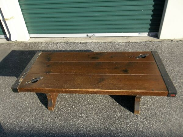 Victory Liberty Ship Hatch Cover Coffee Table $550.00