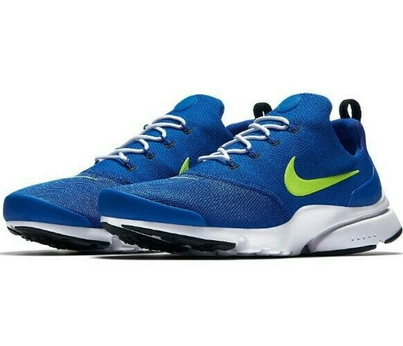 Nike Air Zoom Presto Fly Running Shoes 908019 407 Blue Lime Flash Volt Sz 11