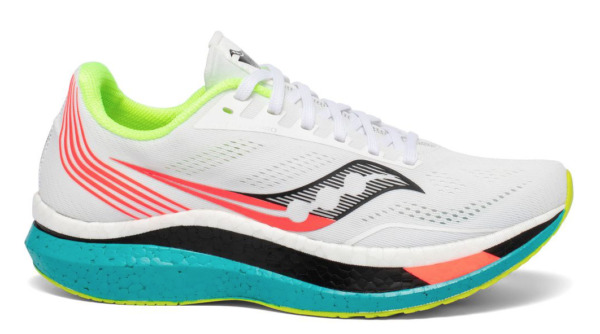 Saucony Endorphin Pro White Multicolor US Mens Size 8-13 Running Shoes
