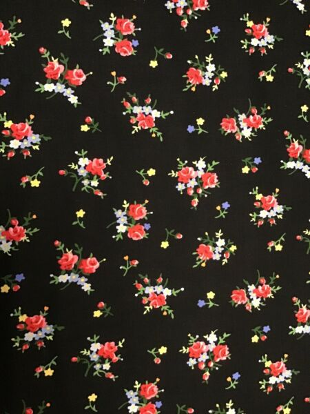 Fabric Lakehouse Floral Calico 12061 sold by the yard