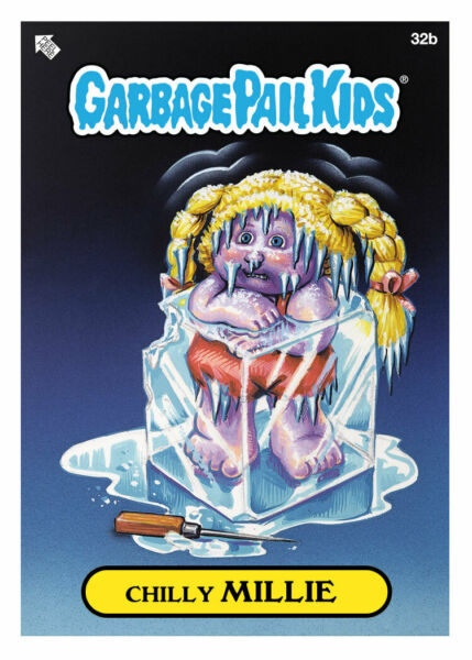 WAX  Topps DIGITAL ONLY Garbage Pail Kids CHILLIE MILLIE 32b BASE Card Crypto