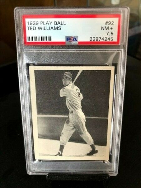 1939 Play Ball #92 Rookie Ted