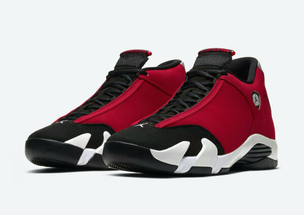 *Brand New* Air Jordan 14 Retro Gym Red Toro 487471-006 Mens Size 8-15 *In Hand*