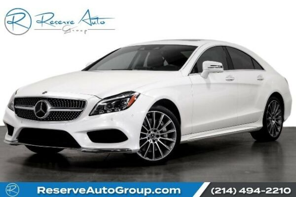 2017 Mercedes-Benz CLS-Class AMG Sport P2 Pkg Driver Asst Pkg Wheel Pkg 2017 Mercedes-Benz CLS550 designo Diamond White Metallic with 36257 Miles avail