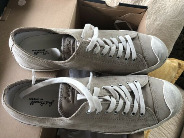 CONVERSE JACK PURCELL CANVAS SHOES SIZE 12
