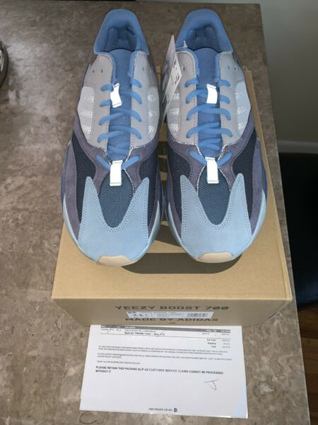 Adidas Yeezy Boost 700 Carbon Blue Size 11.5 DS FW2498 W/Receipt