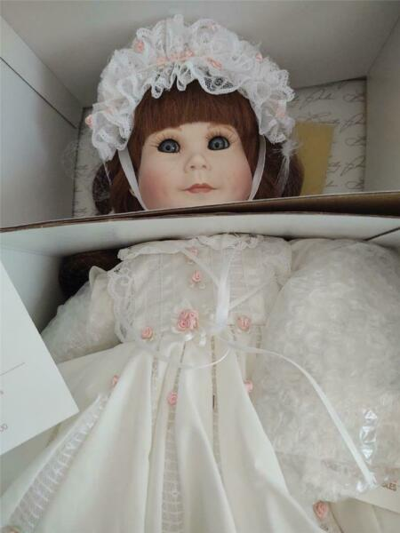 World Gallery Dolls Kelly Porcelain Doll by Beverly Parker 12385000 New