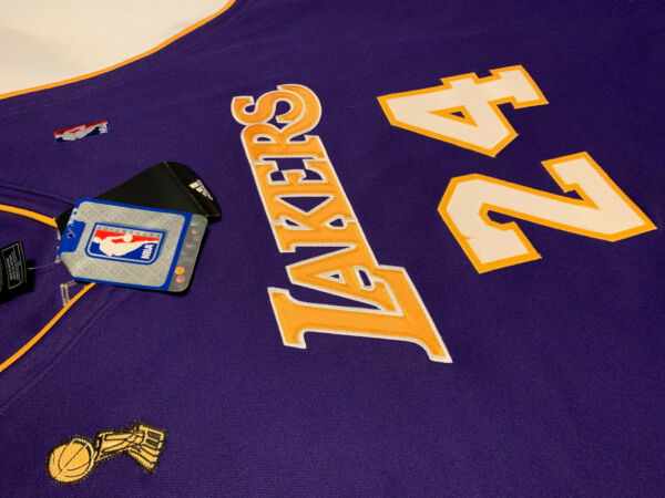 2009 Authentic Adidas #24 Kobe Bryant Jersey 100% Authentic!!  Purple Size 56