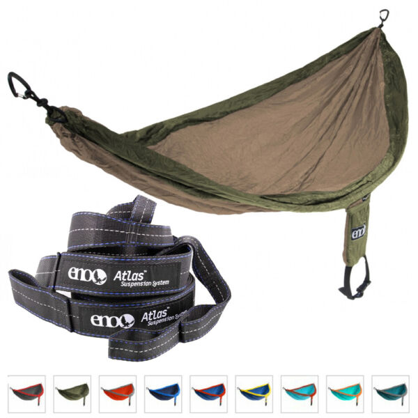 ENO Hammock Jungle Military Survival Camping SingleNest 400lbs Suspension System GBP 69.45