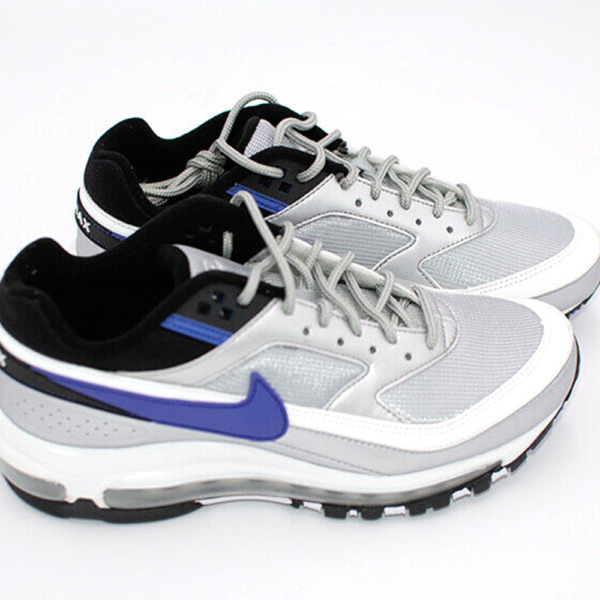 New Nike Air Max 97/ BW Mens Shoes Sneakers Size 6 AO2406-002 Silver Multi $170