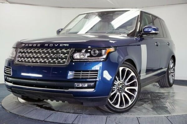 2017 Land Rover Range Rover 5.0L V8 Supercharged Autobiography 2017 Land Rover Range Rover 5.0L V8 Supercharged Autobiography 20705 Miles Loire
