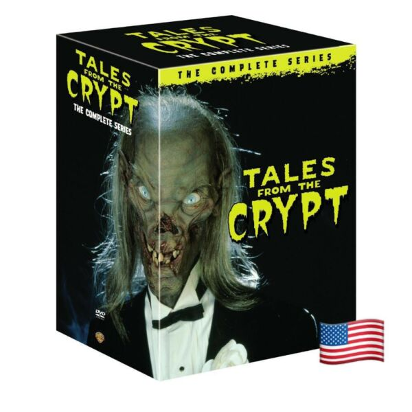 Tales from the Crypt: The Complete Series Seasons 1 7 DVD 2017 FREE SHIPPING
