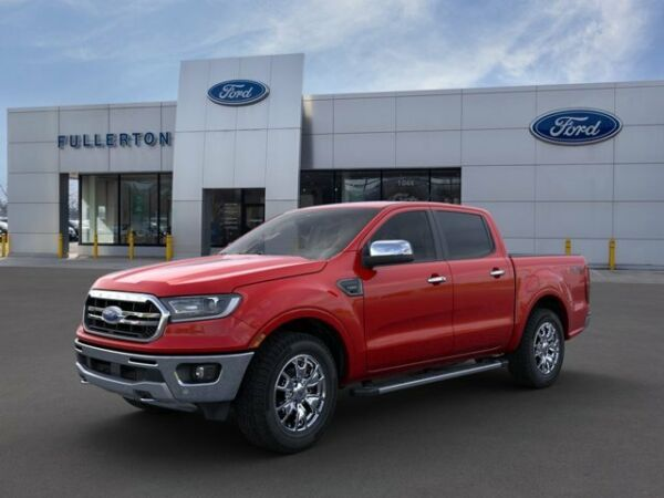 2020 Ford Ranger LARIAT 2020 Ford Ranger D4 Rapid Red Met Tinted Cc with 18 Miles available now!